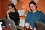 Petr a Šimon na začátku Drupal setkání