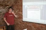 Dan Suchánek z Modřanské trojky prezentoval stránky dětské organizace.