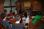 Petr Joachym přednáší o Django.