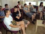 Účastníci povídání o kávě