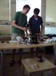 Kuba s Martinem melou kávu, ta musí být umleta čerstvě